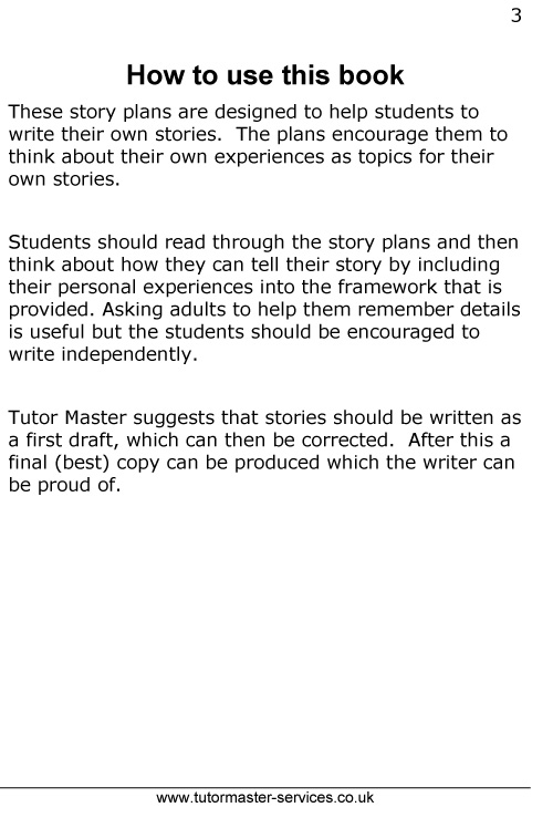 Tutor Master helps you Write Stories - Book Two - ISBN: 978-0