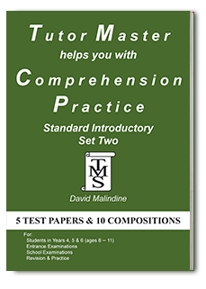 Tutor Master helps you with Comprehension Practice Standard Introductory Set Two cover