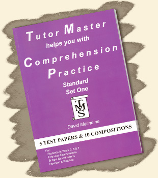 Tutor Master helps you with Comprehension Practice - Standard Set One