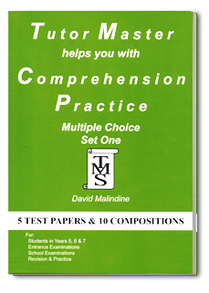 Tutor Master helps you with Comprehension Practice book cover