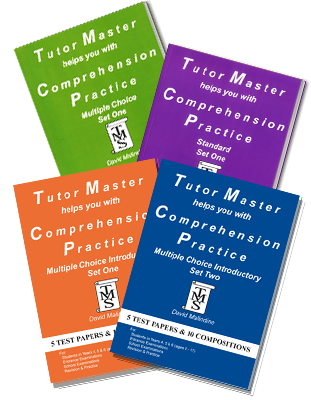 tutormaster comprehension study book