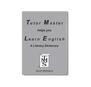 tutormaster literacy dictionary book