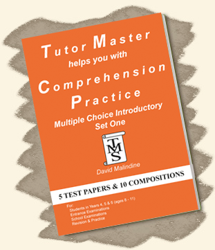 Tutor Master helps you with Comprehension Practice – Multiple Choice Introductory Set One