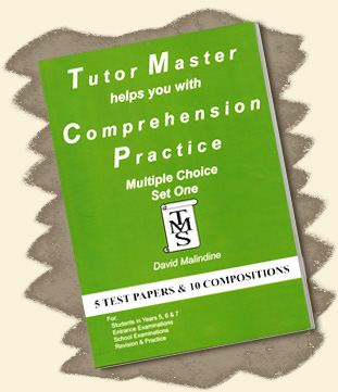 Tutor Master helps you with Comprehension Practice - Multiple Choice Set One
